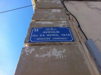 Une avenue à Marseille...