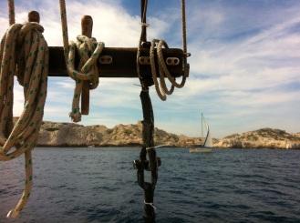 Un bateau en Méditerranée...