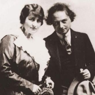 Franz Werfel et Alma Mahler Werfel